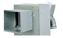 Газови топловъздушни апарати модел MEC EX C за монтаж  навън на  открито EN